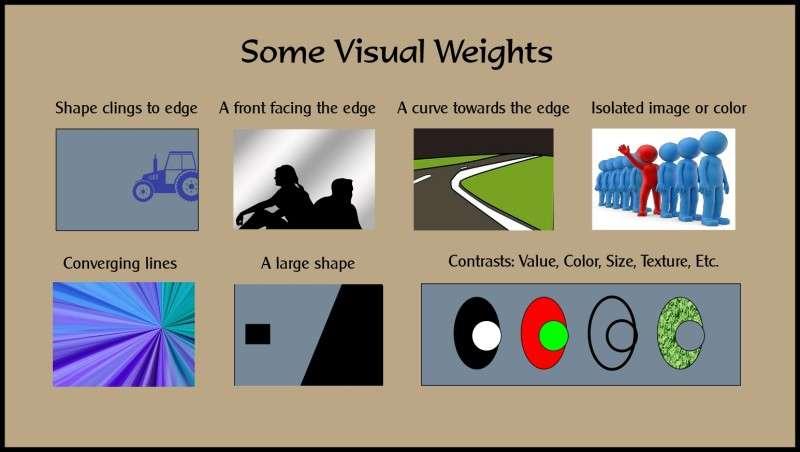 visual weights diagram web